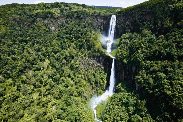 Karururu falls - Aberdare National Park Aberdare Safari