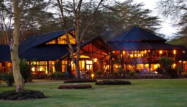 Night View at Ol Tukai Lodge Kenya