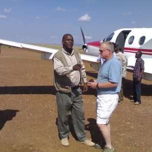 Penfam tours and travel - Flying to Mara