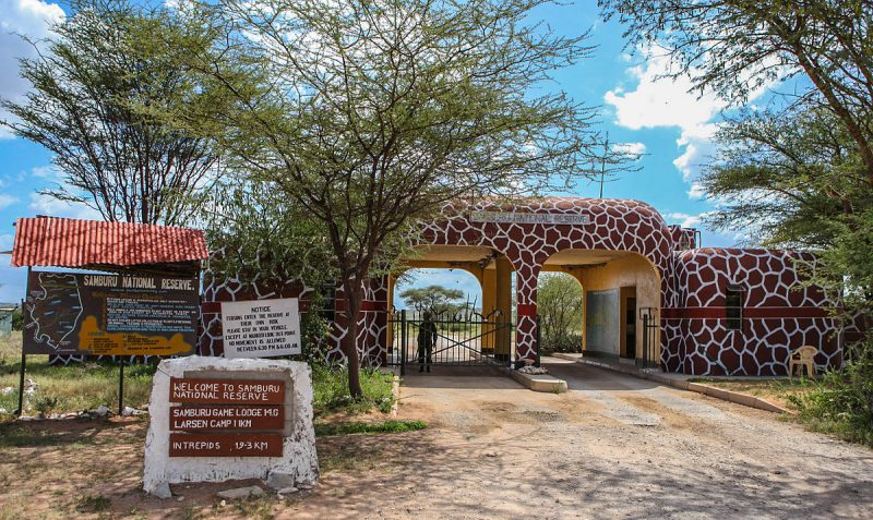 Samburu National Reserve Entrance