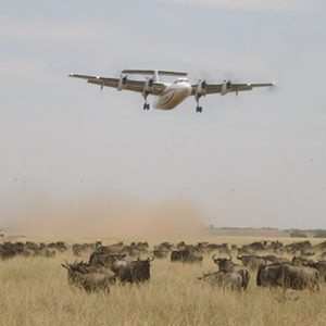 Penfam tours and travel - Flying to Mara package