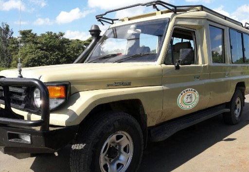 Penfam Tour and Safaris 4x4 Landcruiser (Jeep)