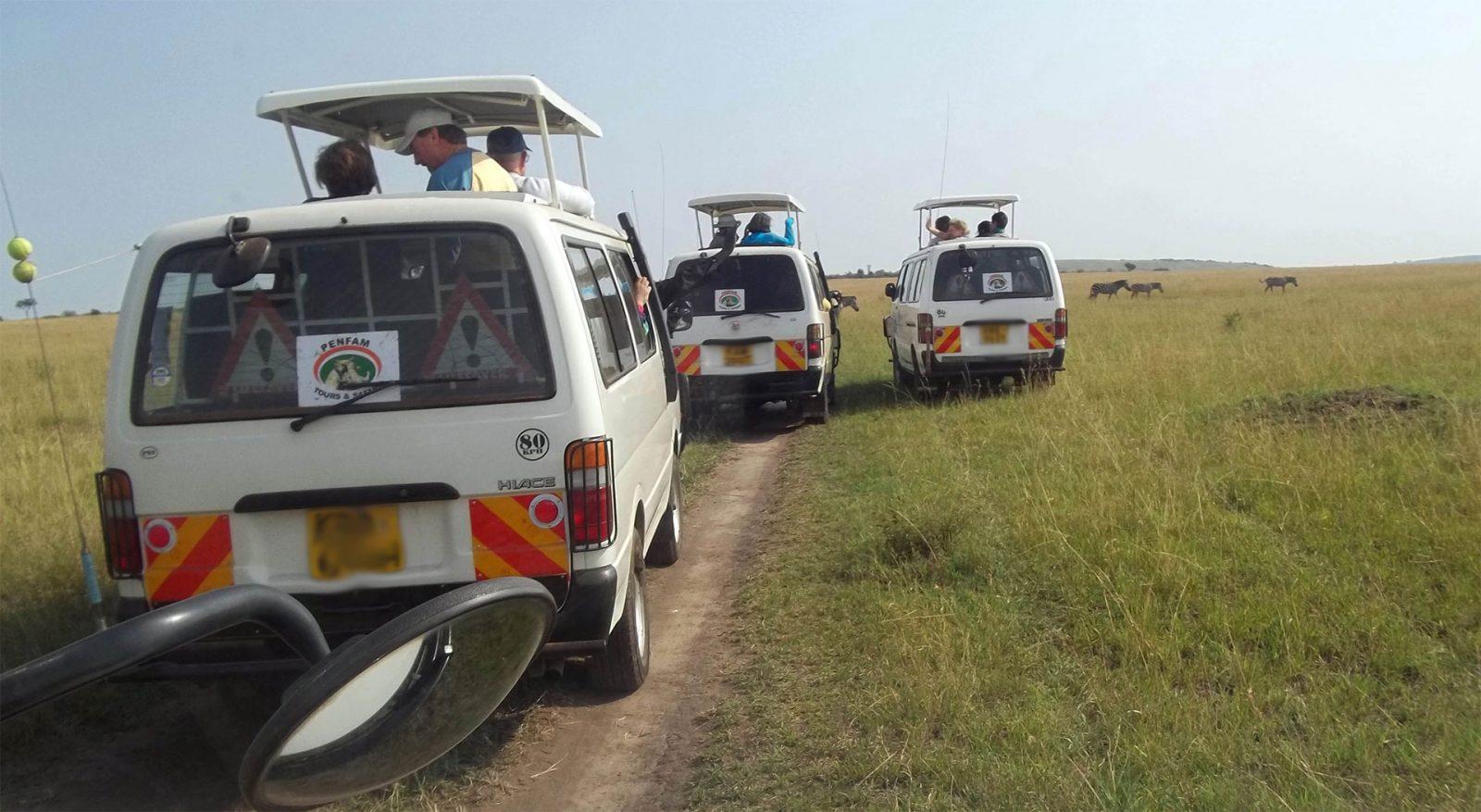 Kenya Safaris and Tours | Game Viewing Masai Mara - Penfam-Tours Caravan