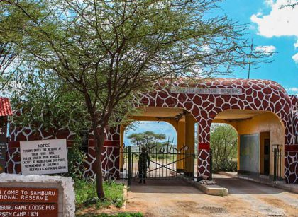 Samburu safaris - Samburu National Reserve Entrance