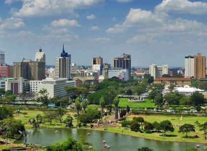 Nairobi City Skyline Kenya | Kenya Tours and Safaris