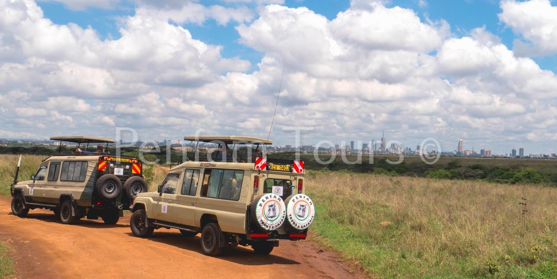Penfan Tours 4x4 Landcruiser tour van safari drive