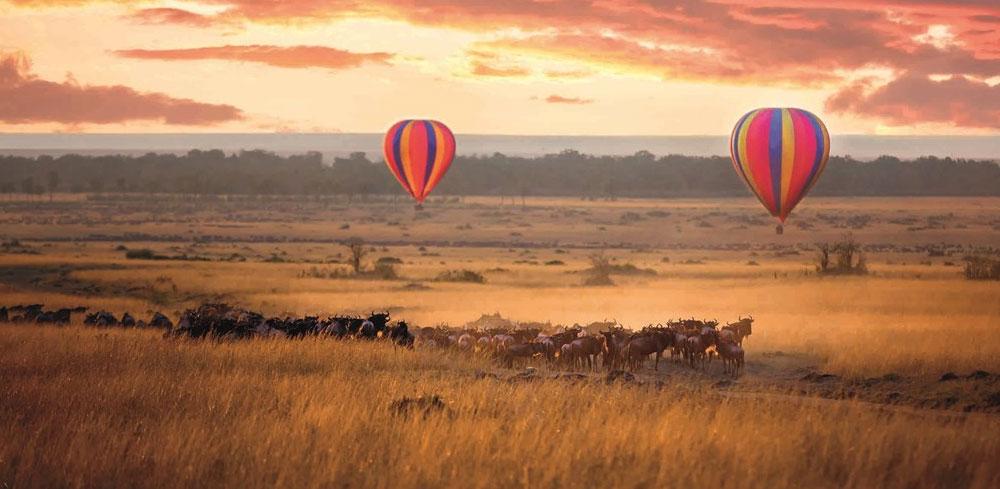 Kenya Safaris and Tours | Penfam Tours and Safaris | Maasai Mara Balloon ride