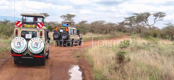 Penfam Tours and Safaris 4x4 Landcruiser Van
