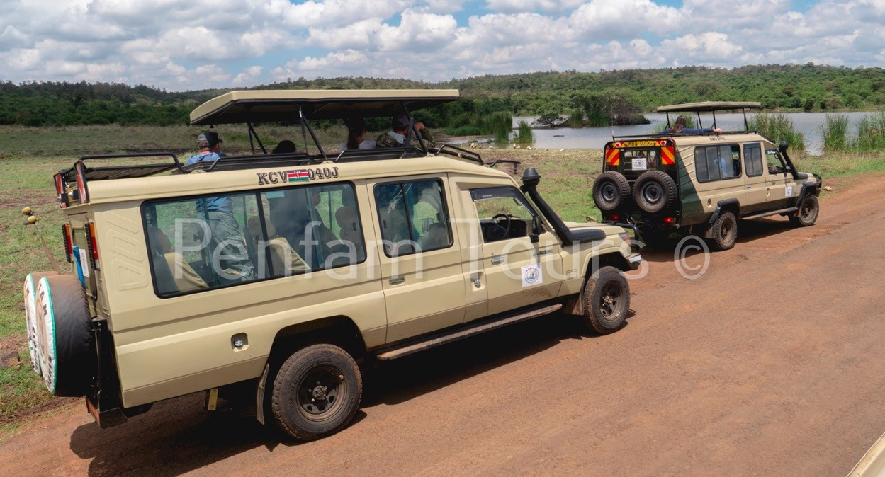 Penfam Tours and Safaris 4x4 Landcruiser Van