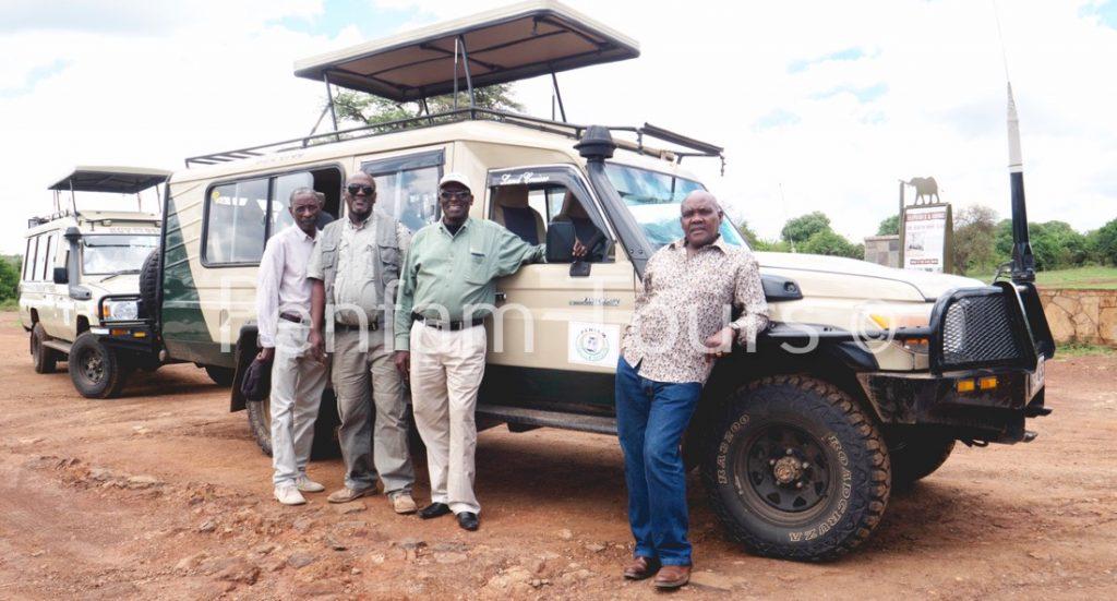 enfam Tours and Safaris Team