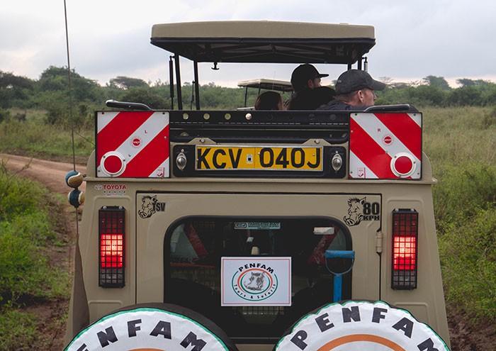 Penfam Tours and Safaris Tour 4x4 van